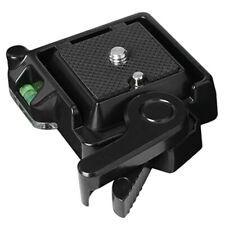 Clamp Quick Release QR 40 Plate For Tripod Monopod Ball Head DSLR Camera Kj