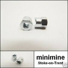 Classic Mini Handbrake Cable Adjuster Nut PAIR 2A5858 1959-1976 early austin s