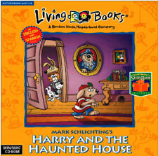 Living Books Harry and The Haunted House   Reading Comprehension   New in Box
