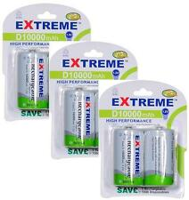 Extreme * 6 X 10000 Mah'd' Lr20 Baterías Recargables