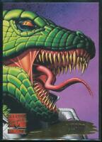 1995 Marvel Masterpieces Trading Card #130 Lizard