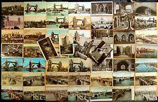 53 Vintage Postcards Tower of London & Bridge, London Bridge, LONDON ENGLAND UK