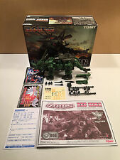 Tomy Zoids Green Horn 1/72 scale kit Yuji Kaida built with box incomplete