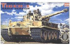 ACADEMY 1:35 CARRO ARMATO GERMAN HEAVY TANK TIGER I   EARLY VERSION  ART 1348