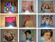 VINILO LP - MUSICA ESPAÑOLA AÑOS 70 - 80 - 90 SABINA SERRAT IGLESIAS SANZ
