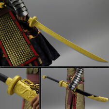 "1/6 Scale metal Golden brocade knife model For 12"" Female & Male Figure"