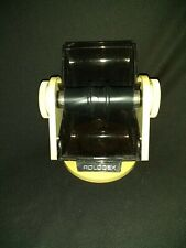 New listing Vintage Large Rolodex Faux Wood Grain Sw-24C with Letter Dividers no cards empty