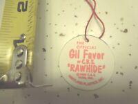 1950's   GIL FAVOR  Hartland  5 inch Mini Western Rider set custom  Hang Tag