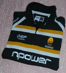 Men's Cotton Traders Worcester Warriors RFU Rugby Shirt 2009 / 2010 (XL)