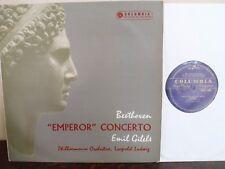 """LP 12"""" Columbia 33CX 1490 - Beethoven - Piano Concerto No.5 """"Emperor"""" - GILELS"""