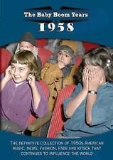 The Baby Boom Years: 1958 (DVD, 2014)