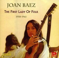 Joan Baez - First Lady of Folk: 1958 - 1961 [New CD]