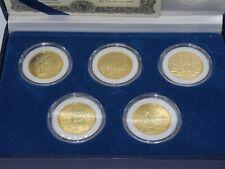More details for 2001 morgan mint five statehood quarter dollars special edition coin set