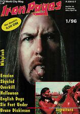 Iron Pages Nr.36 - 3/4/1995,Whiplash,Sepultura,Overkill,Helloween,Skyclad,Erosio