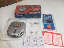 Sony Discman D-E401 in Original Box - Tested Working - Original Receipt