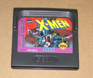 X-Men for Sega Game Gear Fast Shipping Authentic