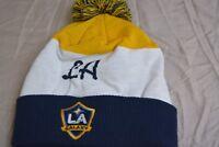 Unisex adidas MLS Los Angeles Galaxy Beanie Knit Hat Toque New
