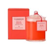 RIO DE JANEIRO PASSIONFRUIT & LIME Candle 350g %7c Glasshouse Fragrances