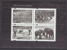 POLAND 2009 **MNH SC#  Special Sheet - Animals of Africa