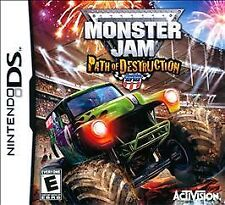 Monster Jam Path of Destruction (Nintendo DS, 2007)