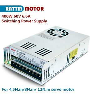 400W 60V 6.6A Single Output DC/AC Switching Power Supply for CNC Route Machine