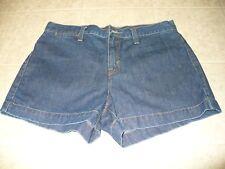 Levis Red Tab Size 9 cotton blue denim women's shorts