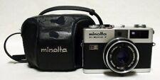 MINOLTA Hi-Matic F 35mm Rangefinder Film Camera w/f2.7 38mm Fixed Lens Minty