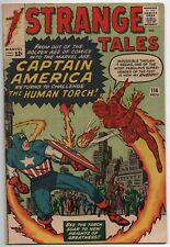 STRANGE TALES #114 - 1st CAPTAIN AMERICA since GOLDEN AGE - VG/F (Check Out!!)