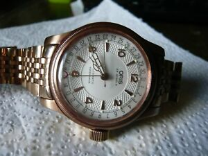 Oris 25 jewel automatic wristwatch mens