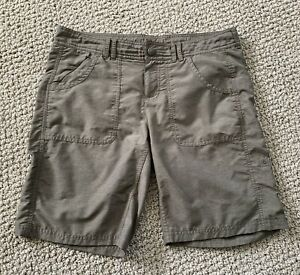 Womens The North Face Brown Camping Hiking Shorts Size 8