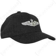 US Senior Pilot Baseball Cap - USAF American Sun Peak Hat Cotton Air force New