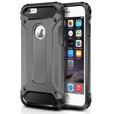 For iPhone 6 & iPhone 6S Case - Dual Layer Hybrid Shockproof Hard Armor Cover