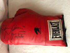 BOXING GLOVE SIGNED BY RAY BOOM BOOM MANCINI 12-10-1995