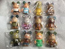 Disney Vinylmation - Beauty and the beast, Set of 12 Chaser - Artist Signed