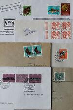 Ungeprüfte schweizer Briefmarken als Bedarfsbrief