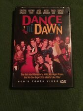 DANCE TIL DAWN DVD ALYSSA MILANO CHRISTINA APPLEGATE Authentic DVD
