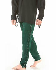 Men's Lace-Up Pants, High quality finest fabric, handmade one by one, COOL!!