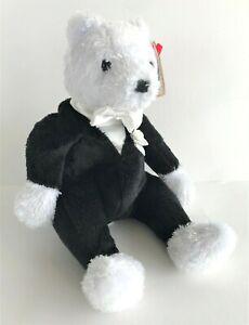 Ty Beanie Babies Plush Soft Toy Groom Teddy 19 cm 2002