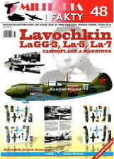 LAVOCHKIN LAGG-3, LA-5, LA-7 AIRCRAFT CAMOUFLAGE & MARKINGS