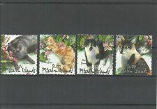 Cats Pitcairn Islander Stamps