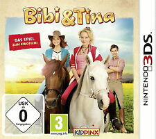 Bibi & Tina: Das Spiel zum Kinofilm (Nintendo 3DS, 2014, Keep Case)