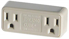 Thermo Cube Thermostatically Controlled Outlet Tc-3 Cold Weather On 35 Off at 45