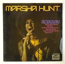 "12"" LP - Marsha Hunt - Desdemona - B1470 - RAR - washed & cleaned"