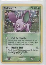 2004 Pokémon EX FireRed & LeafGreen Base Set Reverse Foil #71 Nidoran M Card 0a1