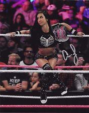 AJ LEE WWE SIGNED AUTOGRAPH 8X10 PHOTO #6 W/ PROOF