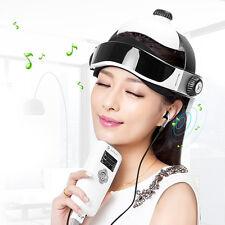 Electric head massager Wireless Infrared Helmet Pressure Acupuncture Massage NEW