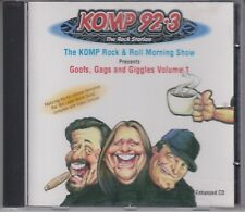 KOMP 92.3 Rock & Roll Station Morning Show 2002 Goof, Gags & Giggles Volume 1 CD