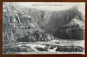 Amphitheatre Giant's Causeway Postcard Co Antrim Northern Ireland Portrush 1910
