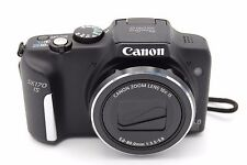 Canon PowerShot SX170 IS 16MP 3''Screen 16x Zoom Digital Camera - Black