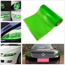 Green Polymer PVC Auto Off-Road Headlight Taillights Protection Vinyl Film Sheet